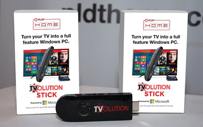 TVolution Stick by Microsoft, PLDT HOME Fibr