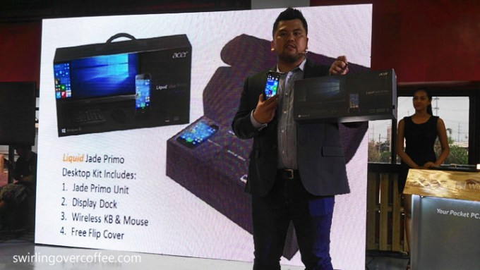 Acer Liquid Jade Primo, Jeffrey Mariano, Senior Product Lead for Mobility