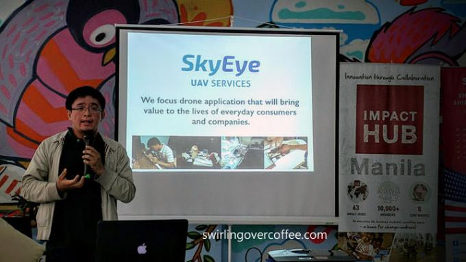 Impact Hub Fellowship on Innovation and Mobility, SkyEye