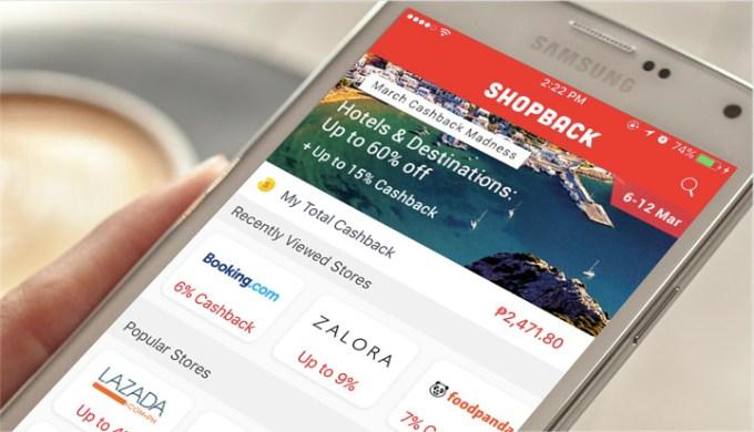 The ShopBack app