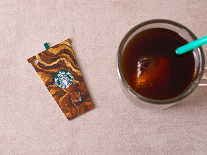 Starbucks Iced Coffee Card