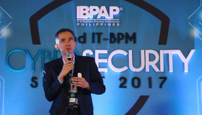 "Globe Business Senior Advisor for Support Services and Solutions Development Mike Sy talked about ""Winning the War on Cyber Crime"". His presentation focused on introducing Managed Security Services and its importance and relevance for businesses."