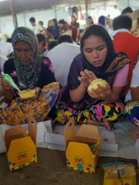 Goldilocks Cares for Marawi DIY Cake Decoration