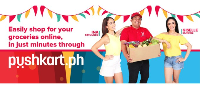 Pushkart.ph, order groceries online