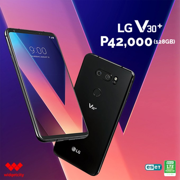 LG V30+ Hong Kong Version available at Widget City