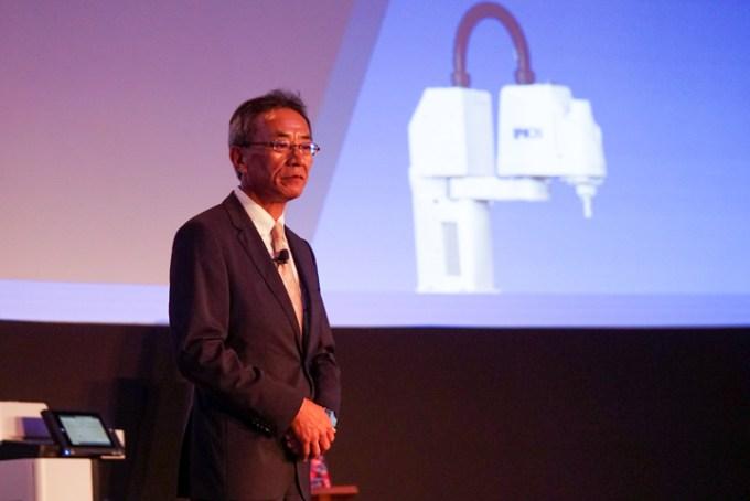 Mr. Toshimitsu Tanaka, Managing Director (Southeast Asia) Epson Singapore.