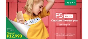 OPPO F5 Youth price cut: P12990 from P13990