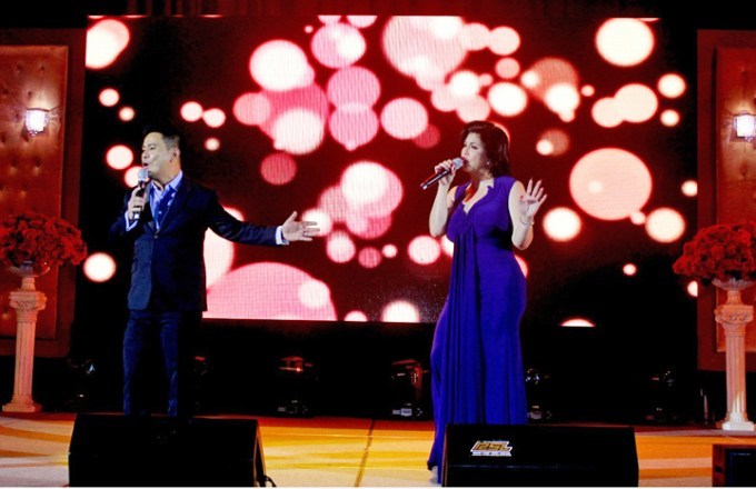 Singer and Songwriter Ogie Alcasid and Asia's Songbird Regine Velasquez-Alcasid