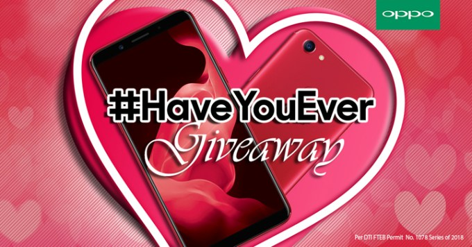 OPPO #HaveYouEver Giveaway