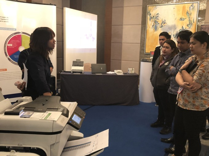"The Epson Solutions and Technology showcase called ""Our Innovation Story"",is a culmination of Epson's leading innovations across print, scan, label, projection and wearable solutions."