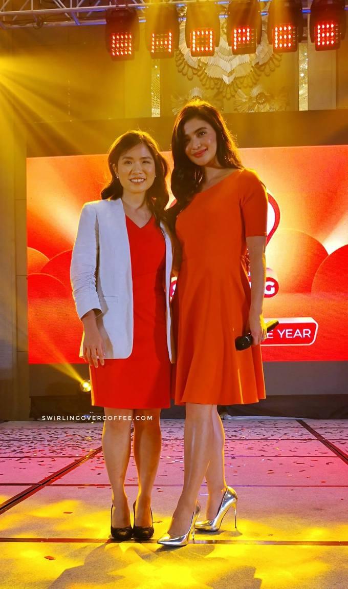 Shopee Philippines Director Jane Lim and Shopee Philippines Brand Ambassador Anne Curtis.