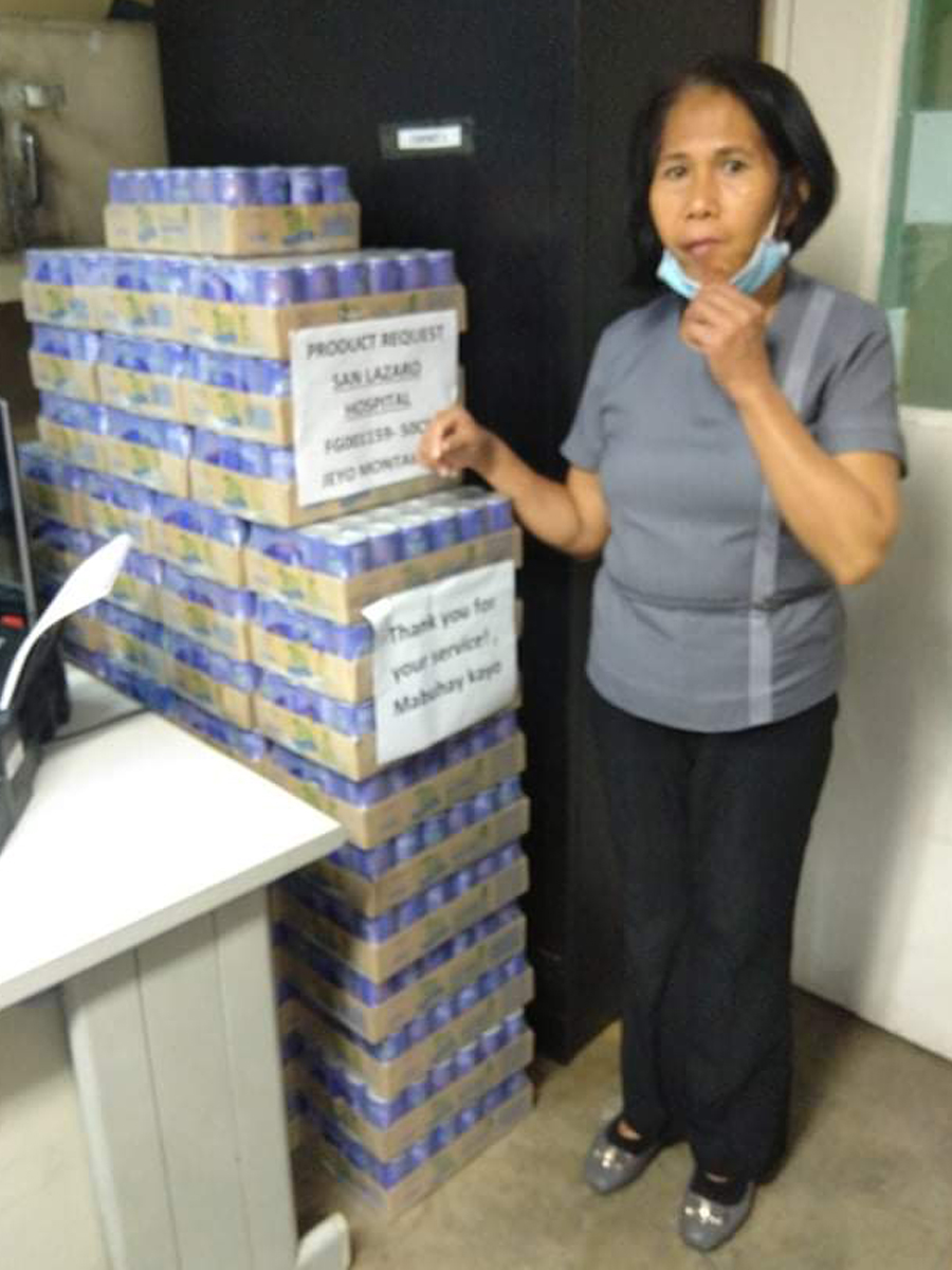 Nutriasia Donates P100-M to Help Most Affected Residents in Metro Manila