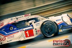 Sébastien Buemi aux 24 Heures du Mans 2015