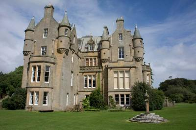 Scottish castles: Kennedy and Lochinch Castle