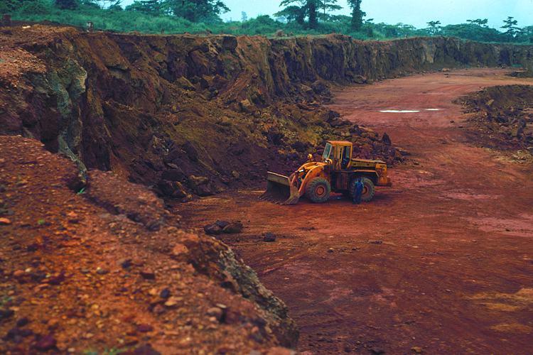 Bilder zu Mineralische Rohstoffe