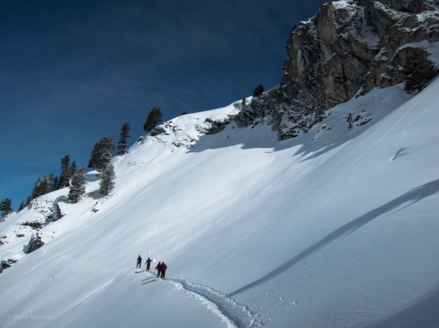 Ski touring Verbier March 2013