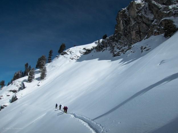 Ski touring Verbier March 2013