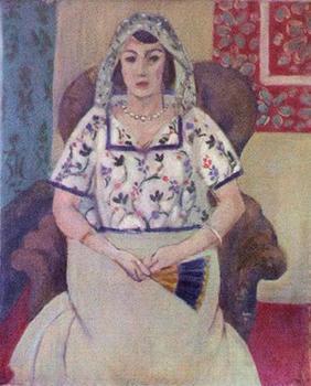 'Sitting Woman' by Henri Matisse (Keystone)