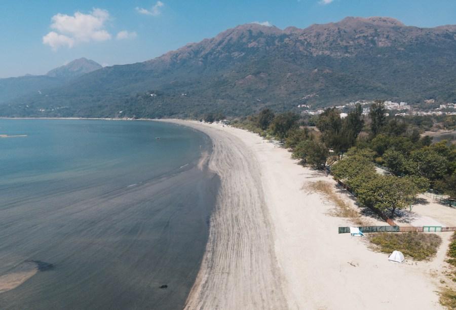 The Pui O Beach.