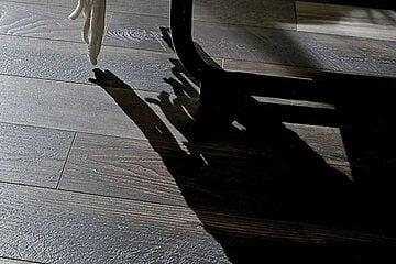 wood laminate or luxury vinyl tile