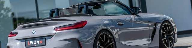 BMW Z4 M40i portata a 395cv da Lightweight Permormance