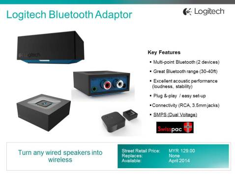 Logitech Bluetooth Adaptor