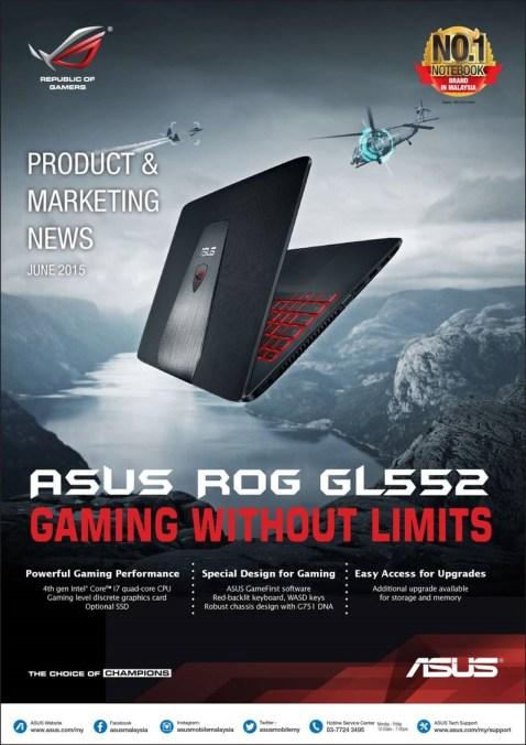Asus ROG GL552