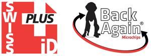 SwissPlus ID Back Again Microchips Logo