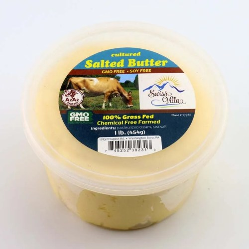 1 lb. Cultured Salted Butter