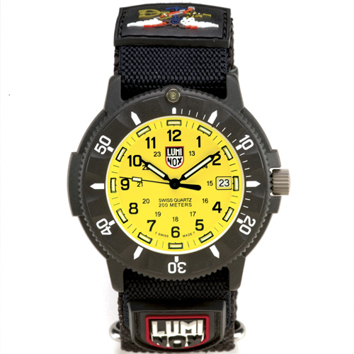 Luminox Navy Seal 3905 Watch For Men Yellow Dial