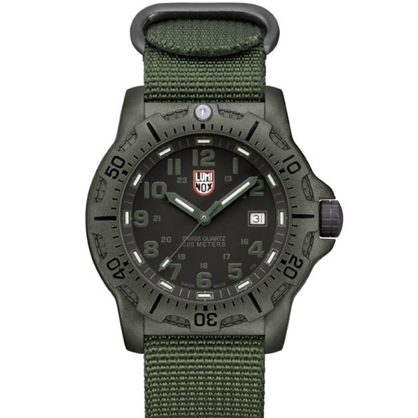 Luminox Watch Military Style Reinforced Carbon Case