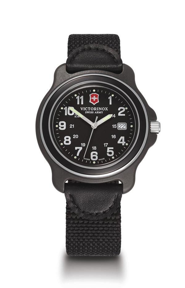 Victorinox Swiss Army Original Watch Black Dial Black