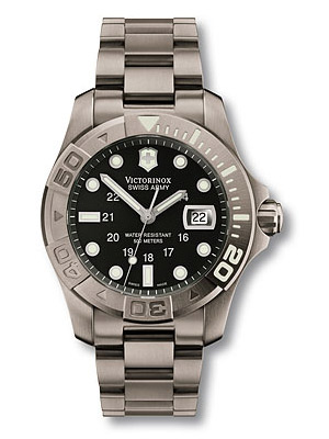 Swiss Army Watch Dive Master Date Titanium Case 241262