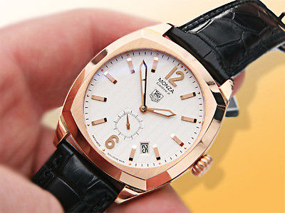 Tag Heuer Watch Monza Limited Edition 18K Rose Gold