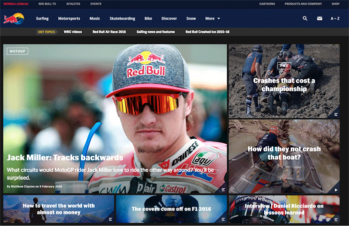 Brands that really get content marketing Red Bull