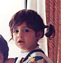 Martina when she was a child