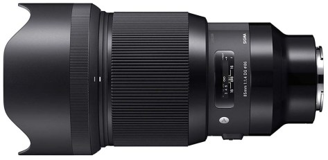 Sigma 85mm f1.4 for Sony