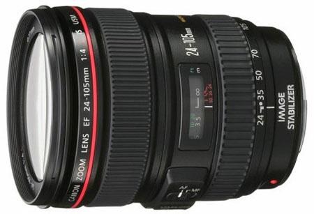 Canon 24-105mm f4 EF lens