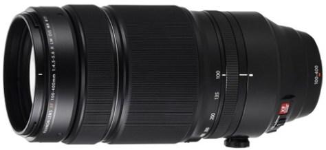 Fujifilm 100-400mm X lens