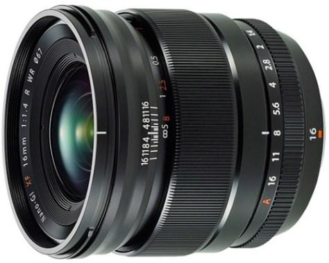 Fujifilm 16mm f1.4 lens