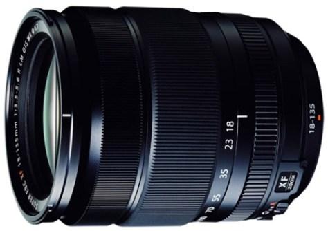 Fujifilm 18-135mm lens