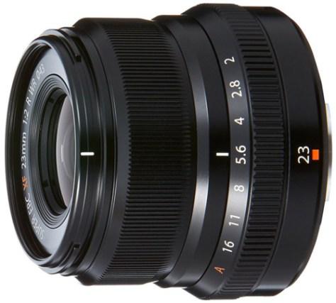 Fujifilm 23mm f2 lens