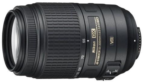 Nikon 55-300mm lens
