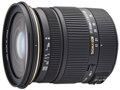 Sigma 17-50mm lens for Canon