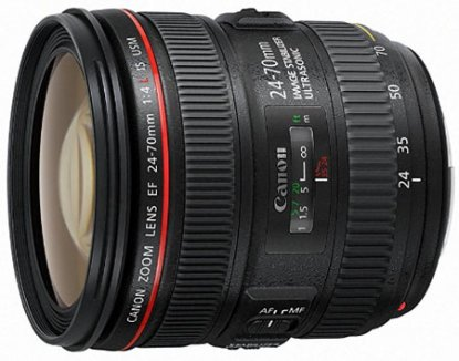 Canon 24-70mm f4 lens