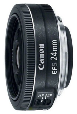 Canon 24mm STM lens