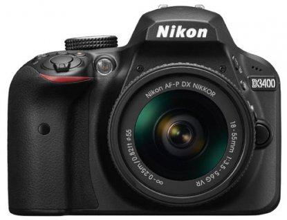 Nikon D3400 DSLR camera