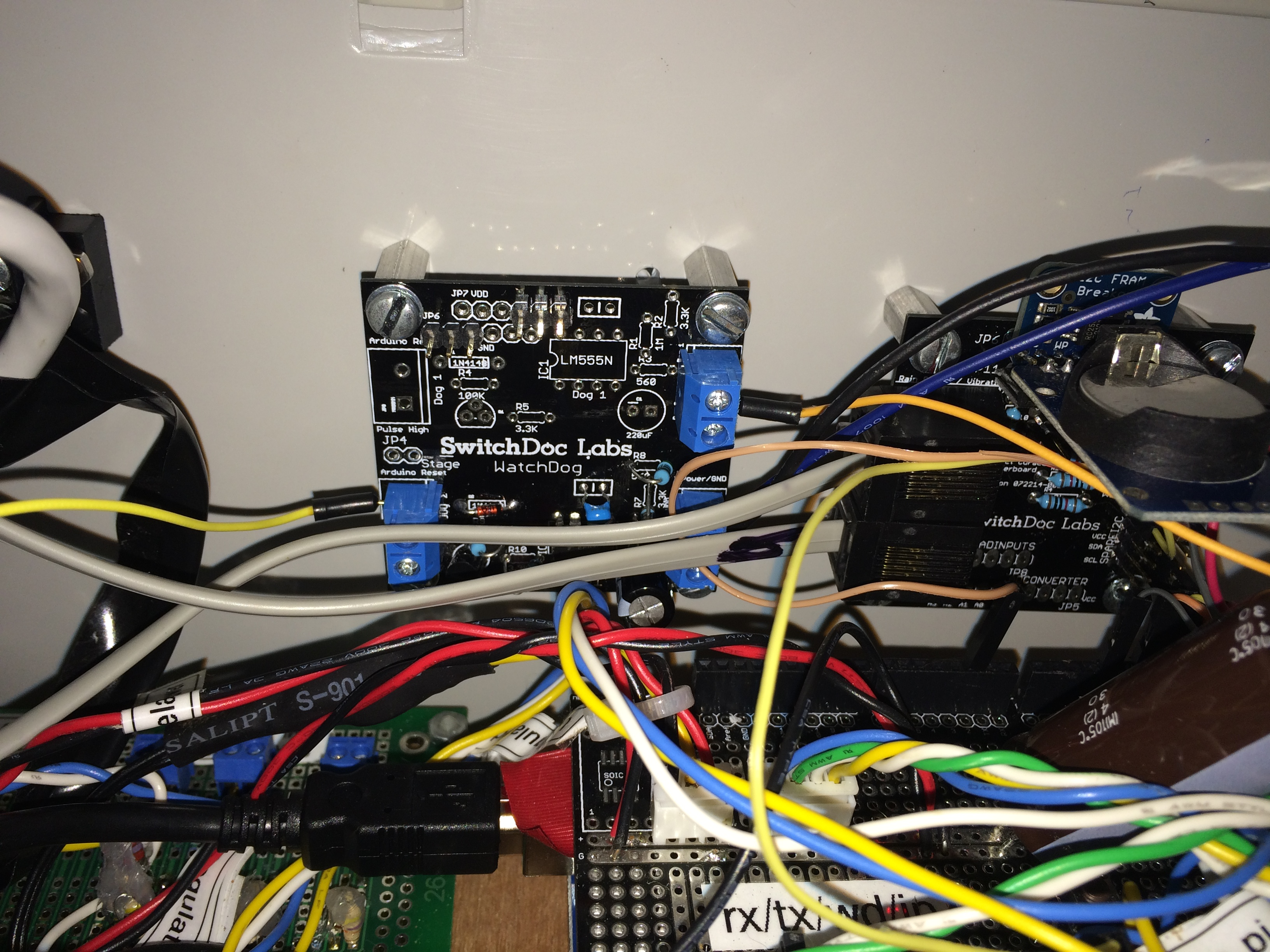 Project Curacao Arduino Battery Watchdog Part 3 Switchdoc Labs High Current Relay Dual