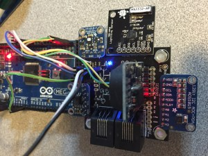 WeatherPiArduino Fully Populated