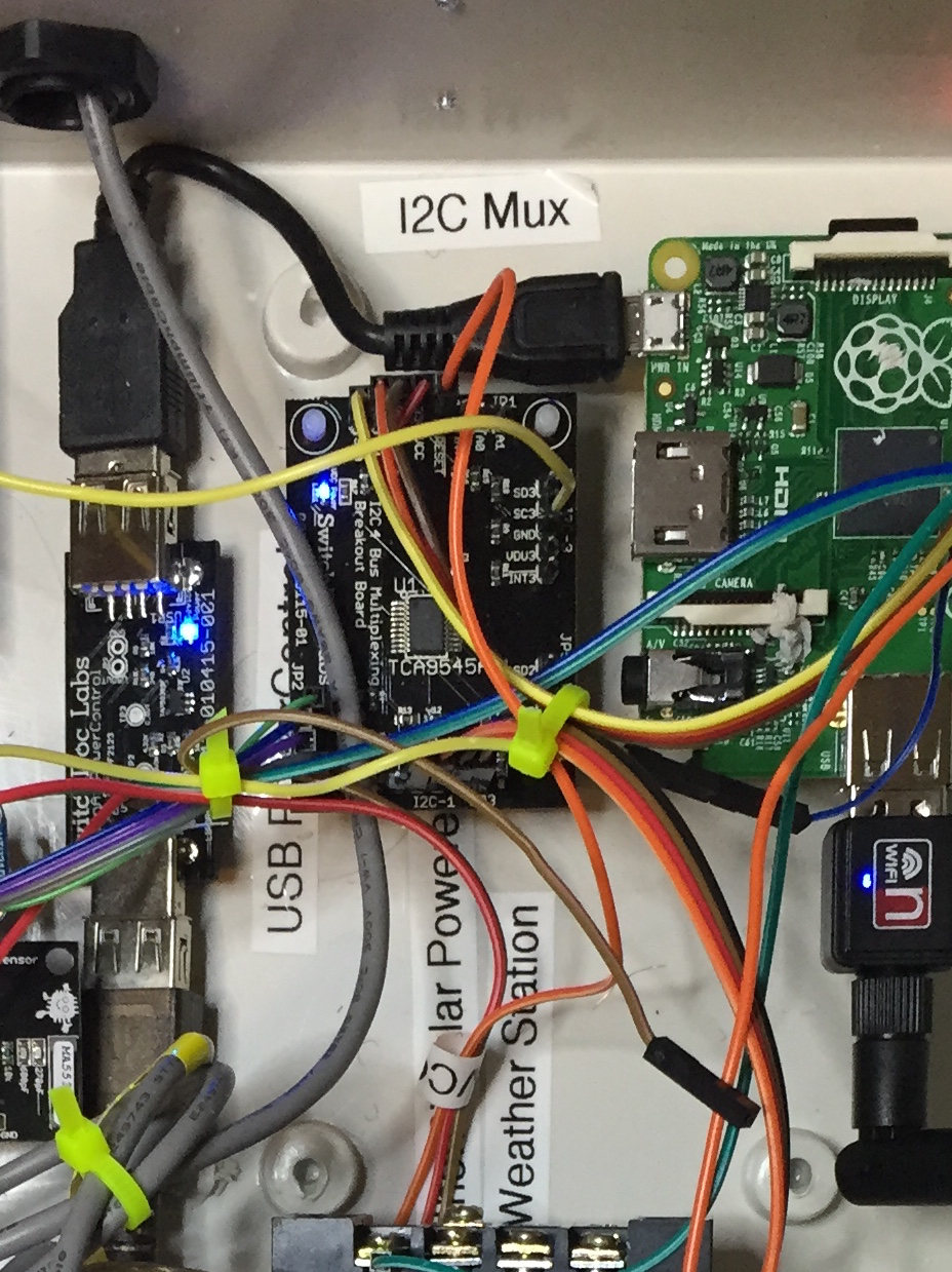 I2c 4 Channel Mux Tca9545a Breakout Board Switchdoc Labs Wiring In Weatherpi